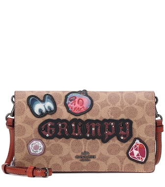 Coach - X Disney® Grumpy logo leather shoulder bag - mytheresa.com
