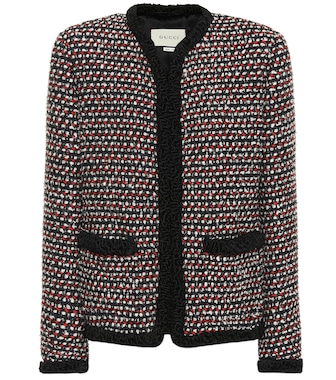 Gucci - Sequined tweed jacket - mytheresa.com