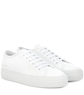 Common Projects - Tournament Low leather sneakers - mytheresa.com