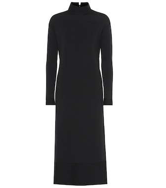 Agnona - Wool-blend midi dress - mytheresa.com