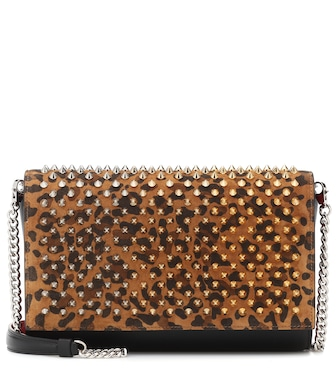 Christian Louboutin - Paloma embellished shoulder bag - mytheresa.com