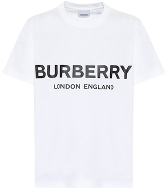 Burberry - Cotton T-shirt - mytheresa.com