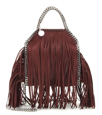 Stella McCartney - Falabella Mini fringed shoulder bag - mytheresa.com
