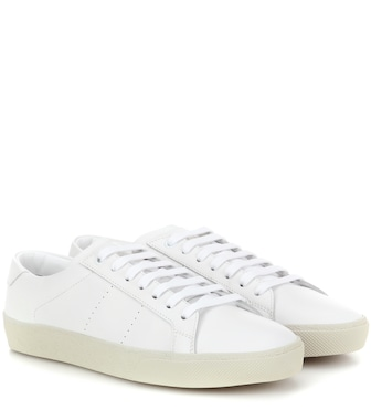 Saint Laurent - SL/06 leather sneakers - mytheresa.com