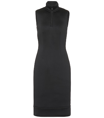 Prada - Neoprene midi dress - mytheresa.com