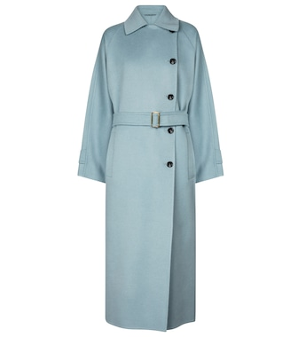 Max Mara - Osol camel hair trench coat - mytheresa.com