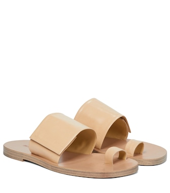 Jil Sander - Leather sandals - mytheresa.com
