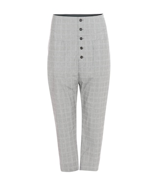 Isabel Marant, Étoile - Liddy high-rise cropped trousers - mytheresa.com