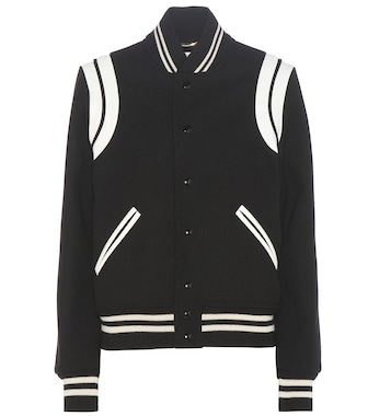 Saint Laurent - Classic Teddy wool-blend jacket - mytheresa.com