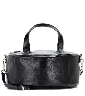 Balenciaga - Air Hobo S leather bag - mytheresa.com