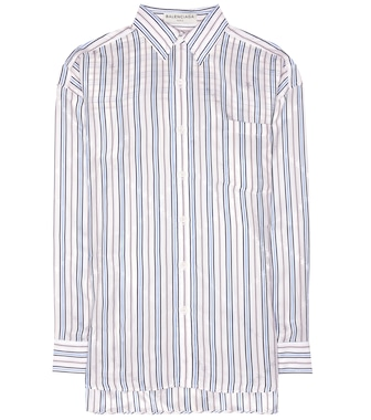 Balenciaga - Oversized striped shirt - mytheresa.com