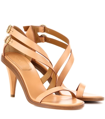 Chloé - Niko leather sandals - mytheresa.com