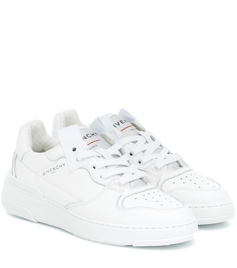 Givenchy - Wing Low leather sneakers - mytheresa.com