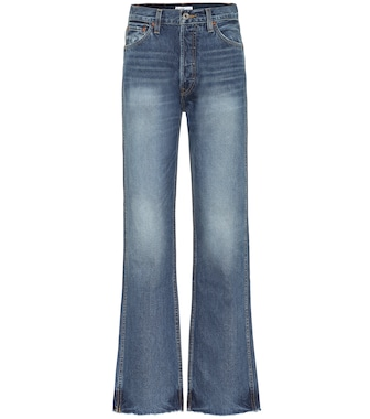 Re/Done - High-rise loose jeans - mytheresa.com