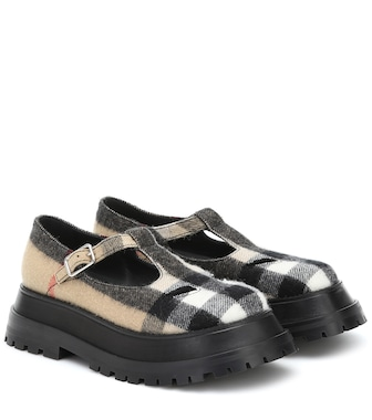Burberry - Aldwych checked Mary Jane loafers - mytheresa.com