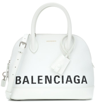 Balenciaga - Ville S leather tote - mytheresa.com