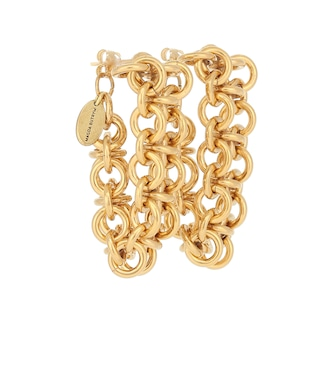 Magda Butrym - Forsythia chain hoop earrings - mytheresa.com