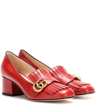 Gucci - Pumps mocassino in pelle - mytheresa.com