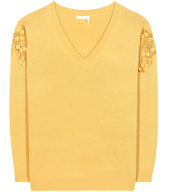 Chloé - Merino wool and cashmere sweater - mytheresa.com