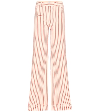Rosie Assoulin - B-Boy striped wide-leg flared trousers - mytheresa.com
