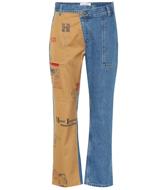 Monse - Straight-leg cropped jeans - mytheresa.com
