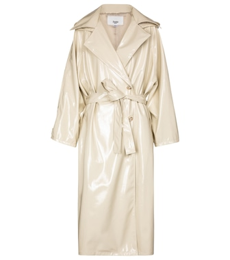 Frankie Shop - Patent trench coat - mytheresa.com