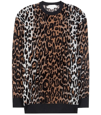 Stella McCartney - Jacquard sweater - mytheresa.com