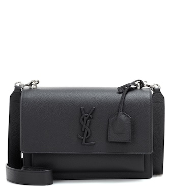 Saint Laurent - Medium Sunset Monogram leather shoulder bag - mytheresa.com
