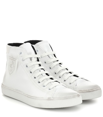 Saint Laurent - Baskets Bedford en cuir - mytheresa.com