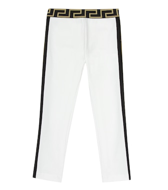 Versace Kids - Leggings in cotone stretch - mytheresa.com