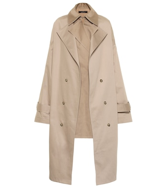 Rokh - Cotton-twill coat - mytheresa.com