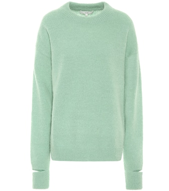 Tibi - Airy alpaca-blend sweater - mytheresa.com