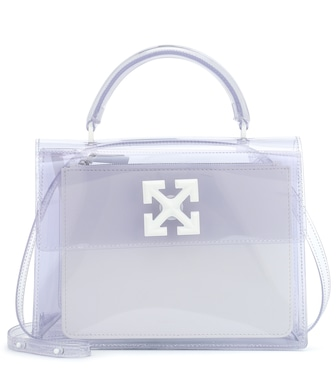 Off-White - Jitney 2.8 PVC shoulder bag - mytheresa.com