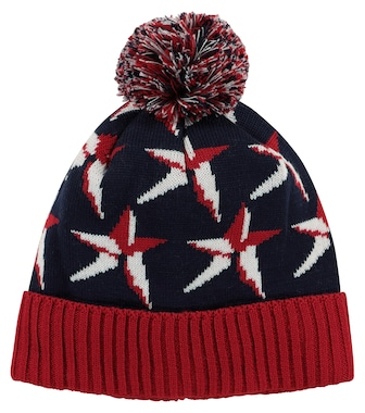 Perfect Moment Kids - Star merino wool-blend beanie - mytheresa.com