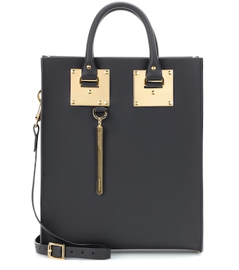 Sophie Hulme - Mini Albion leather tote - mytheresa.com