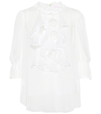 See By Chloé - Ruffled blouse - mytheresa.com