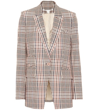 Veronica Beard - Fuller plaid stretch cotton blazer - mytheresa.com