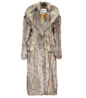 Acne Studios - Faux fur coat - mytheresa.com