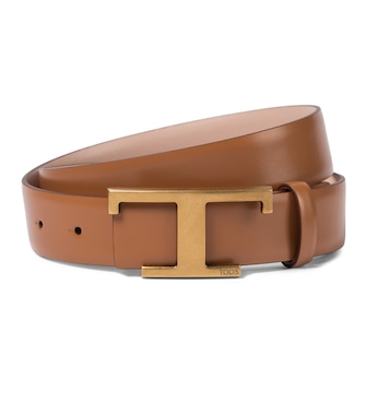 Tod's - Timeless T reversible leather belt - mytheresa.com