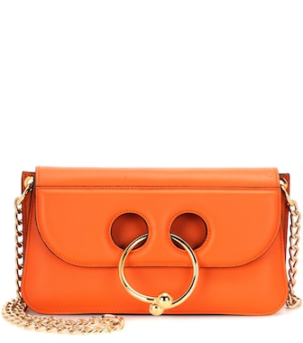 J.W.Anderson - Small Pierce leather shoulder bag - mytheresa.com