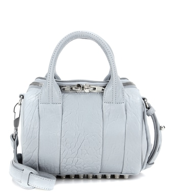 Alexander Wang - Mini Rockie leather tote - mytheresa.com