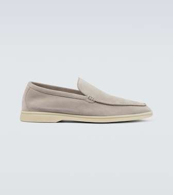 Loro Piana - Loafers Summer Walk aus Veloursleder - mytheresa.com
