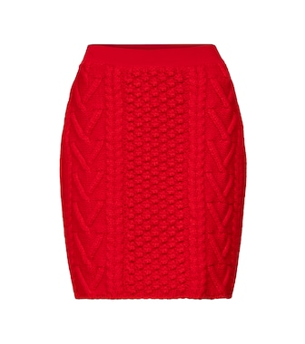 Bottega Veneta - Wool tweed miniskirt - mytheresa.com