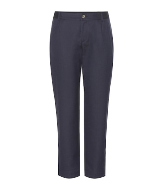 A.P.C. - Isabelle wool-blend  trousers - mytheresa.com