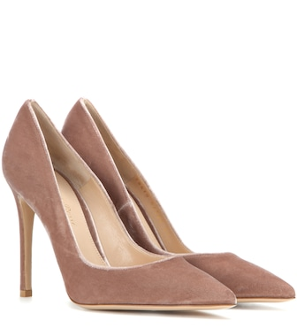 Gianvito Rossi - Exclusive to mytheresa.com – velvet pumps - mytheresa.com