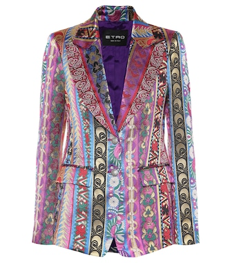 Etro - Striped jacket - mytheresa.com