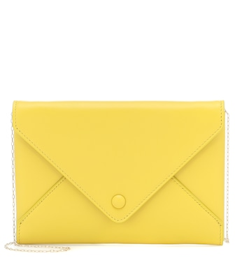 The Row - Envelope Small leather clutch - mytheresa.com