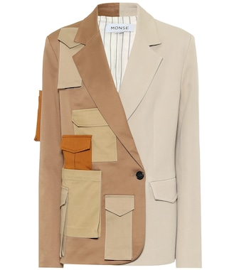 Monse - Deconstructed cotton blazer - mytheresa.com