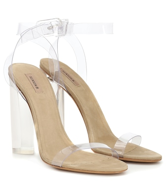 Yeezy - Exclusive to Mytheresa – Transparent sandals (SEASON 8) - mytheresa.com