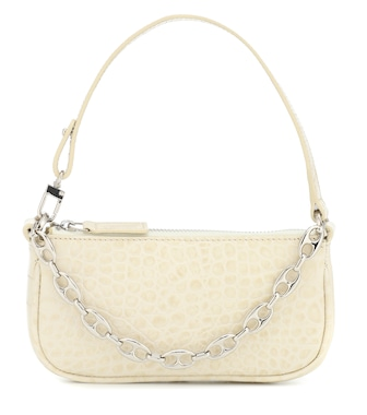 By Far - Rachel Mini leather shoulder bag - mytheresa.com